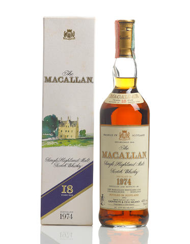 The Macallan- 1974- 18 year old