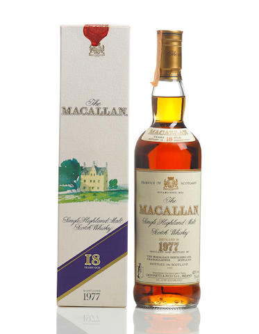 The Macallan- 1977- 18 year old