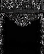 A French 17th century ivory, bone and pewter inlaid ebony, ebonised, fruitwood, giltwood and marquetry cabinetParis, circa 1645