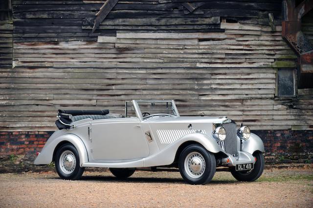 1936 Railton Eight MkII Drophead Coupé  Chassis no. 645139