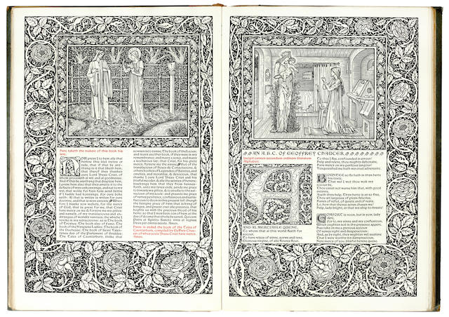 KELMSCOTT PRESS CHAUCER (GEOFFREY) The Works, ONE OF 425 COPIES