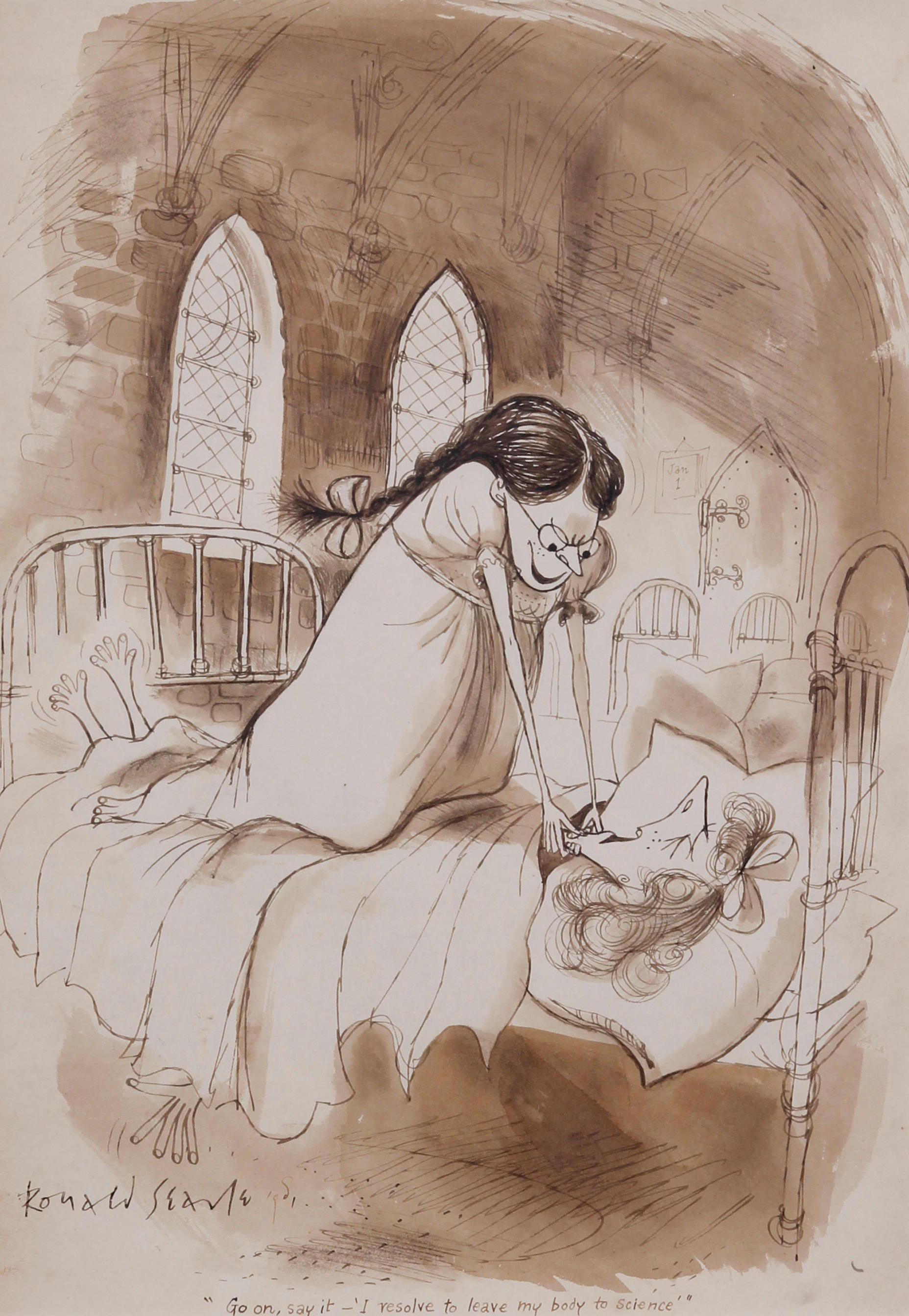 Ronald Searle (British, born 1920)