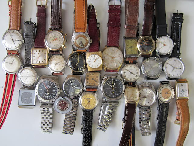 A lot of 27 wristwatches