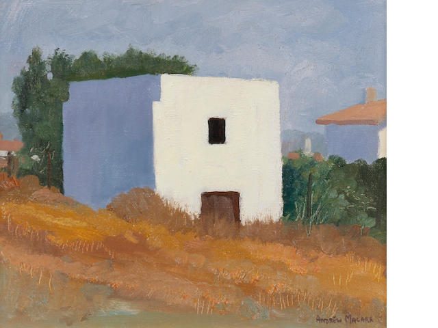 Andrew Macara (British, born 1944) 'White House. Sitges'