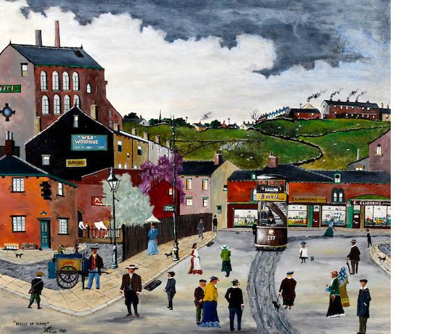 Allen Tortice (British, born Wakefield 1948) 'Hills of Home'