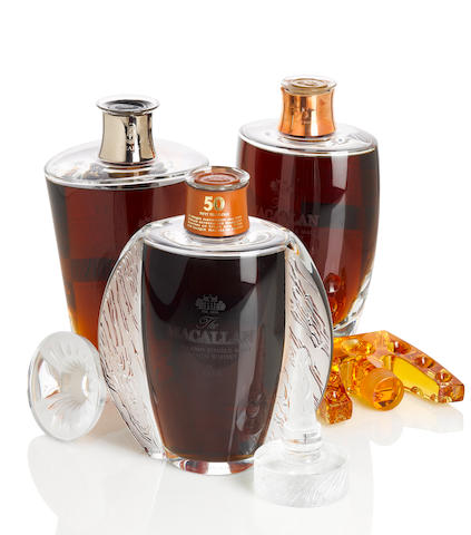 The Macallan Lalique- 50 year old (1)   The Macallan Lalique- 55 year old (1)   The Macallan Lalique- 57 year old (1)