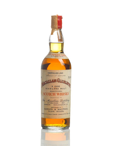 The Macallan-Glenlivet- 1949- 25 year old