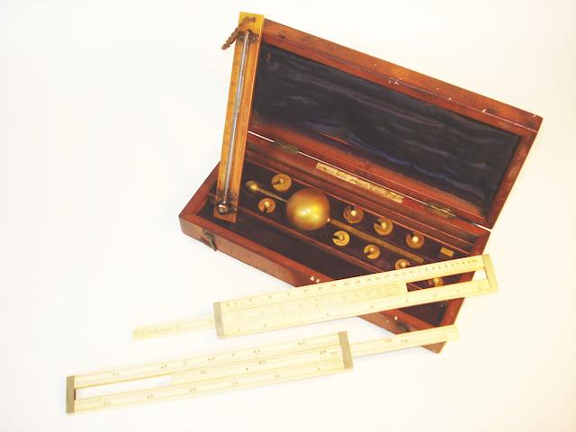 A Buss Sykes's hydrometer,  English,  mid 19th century,