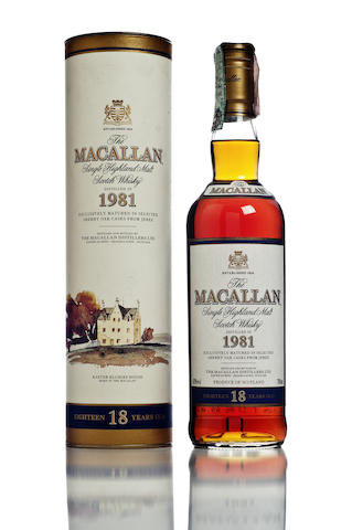 The Macallan-1981-18 year old