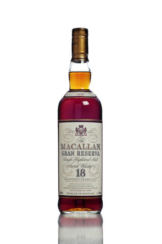 The Macallan Gran Reserva-1980-18 year old