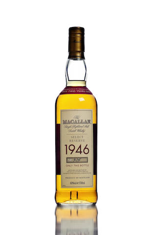 The Macallan Select Reserve- 1946- 52 year old