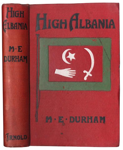 DURHAM (EDITH) Two autograph letters signed, 1915; and a first edition of 'High Albania', 1909 (3)