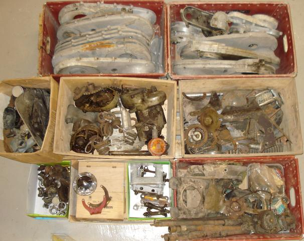 A quantity of assorted Ariel spares,