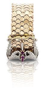 Rolex. A fine tri-colour gold