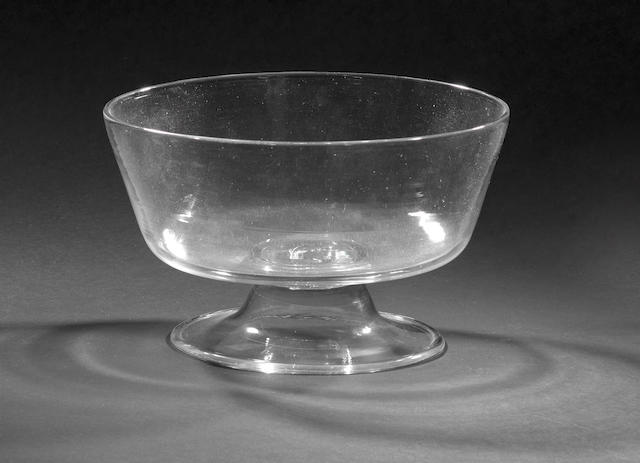 An early English footed bowl, c.1730