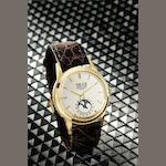 Patek Philippe. A very fine and rare 18ct gold perpetual calendar automatic wristwatch Ref:3448, Case No.320336, Movement No.1114061, Circa 1965