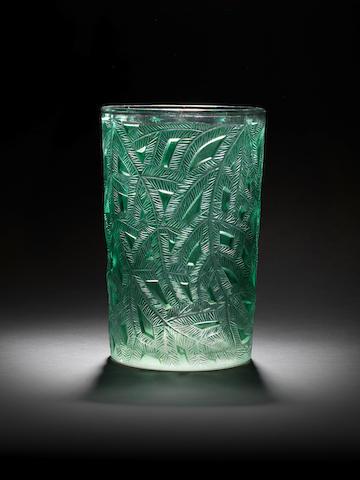 René Lalique 'Épicéa' a Vase, design 1923