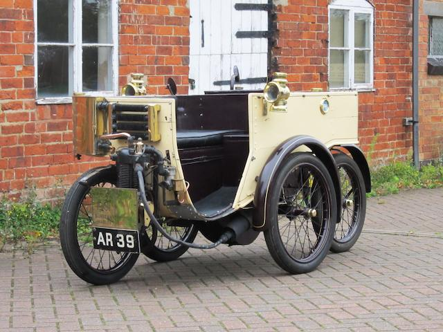 1901 Sunbeam-Mabley Cycle Car  Engine no. 15372
