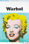 After Andy Warhol (American, 1928-1987) Marilyn Monroe  Offset lithographic poster, 1971, printed in colours, on wove, signed lower right in black pen, printed by Curwen Press, published by the Tate Gallery, 755 x 505mm (29 3/4 x 19 7/8in)(SH)