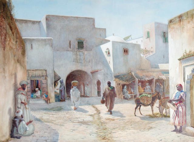 Robert George Talbot Kelly, R.I., R.B.A. (British, 1861-1934) Tangiers