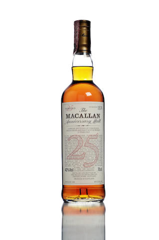 The Macallan Anniversary Malt- 1966- 25 year old