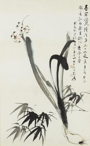 Zhang Daqian (1899-1983) Spring Flowers