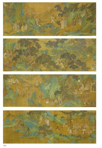 After Wang Zhenpeng (ca.1280-1328) Gathering of Immortals and Scholars