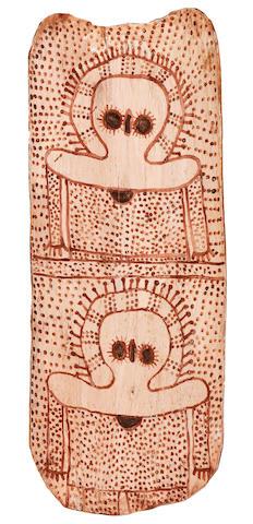Waigan Djanghara (born circa 1929) Untitled (Wandjinas)