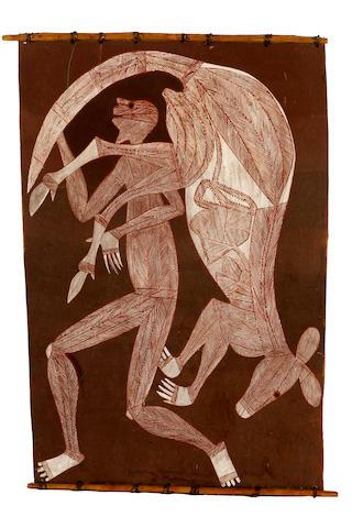 Namerredje Guymala (1926-1978) Untitled (Namorrordrdo and Wallaby)