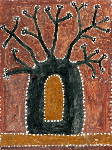 Paddy Jaminji (circa 1912-1996) Untitled (Boab Tree)