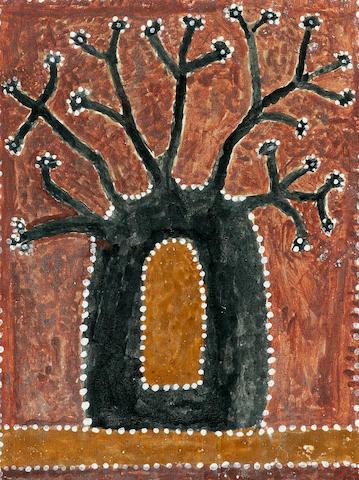 Paddy Jaminji (circa 1912-1996) Untitled (Boab Tree)