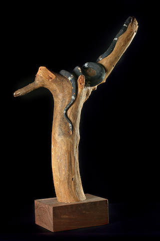 Clifford Possum Tjapaltjarri (1932-2002) Cheeky Snake