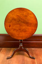 A rare and important Australian cedar tea table circa 1805