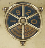 A Royal Automobile Club Associate member's badge, dated 1920,