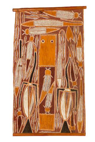 Djoni Bunguwuy (circa 1922-1982) Djalambu (Gupapuyngu Mortuary Rites)