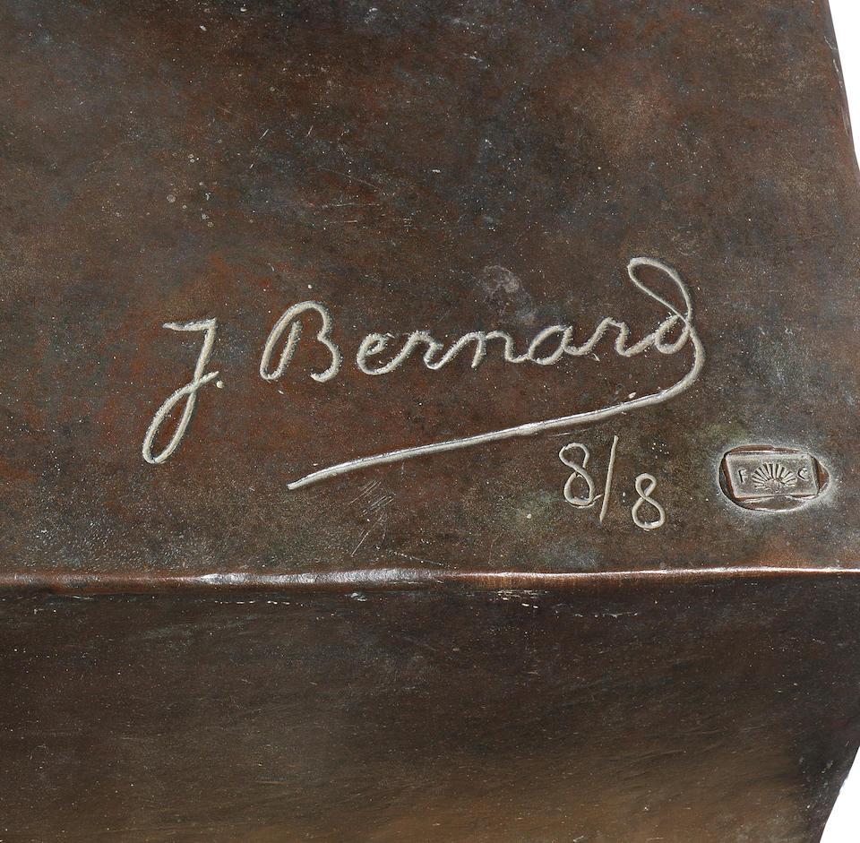 Joseph Bernard (French, 1866-1931) Femme à l'enfant 179cm. (70 1/2in.) (height) (excluding base)