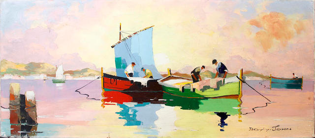 D'Oyly John (British, 1906-1993) Cap d'Antibes