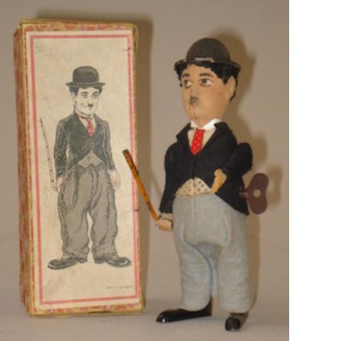 Schuco 940 Charlie Chaplin wind-up toy