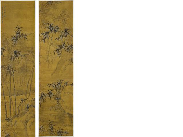 Attributed to Xia Chang (1388-1470) Bamboo