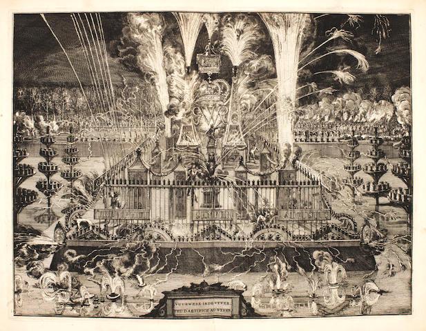 BIDLOO (GOVARD) Komste van zyne Majesteit Willem III, Konig van Groot Britanje, enz. in Holland, 1691