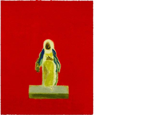Craigie Aitchison C.B.E., R.A. (British, 1926-2009) One of the Old Wise Men