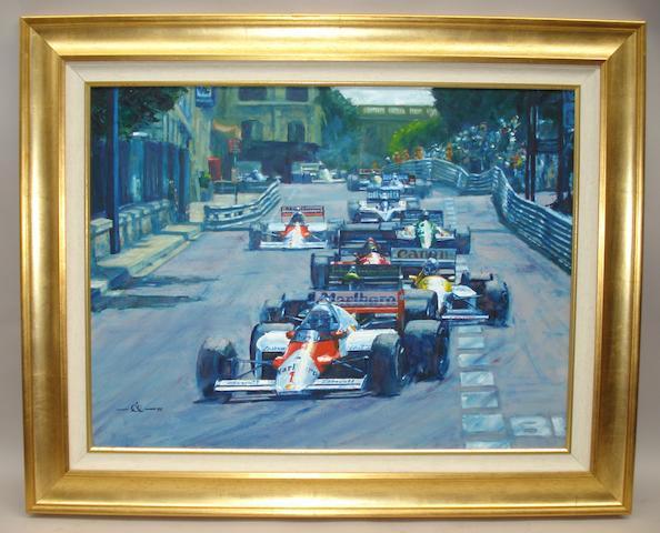 Rob Ijbema, 'Monaco Grand Prix',