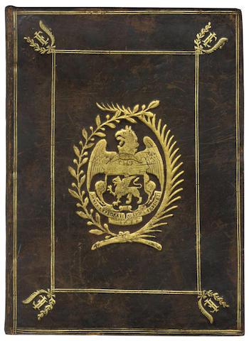 PIGNORIA (LORENZO)  Vetustissimae tabulae Aeneae, FIRST EDITION, JOHN EVELYN'S COPY, 1605