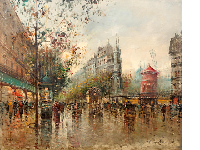 Antoine Blanchard (French, 1910-1988) Moulin Rouge