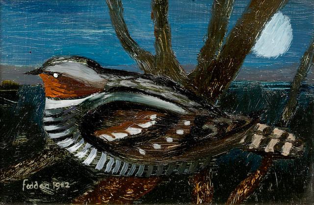 Mary Fedden R.A. (British, born 1915) Night Bird