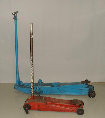 Two tonne trolley jack by Epco Jack,