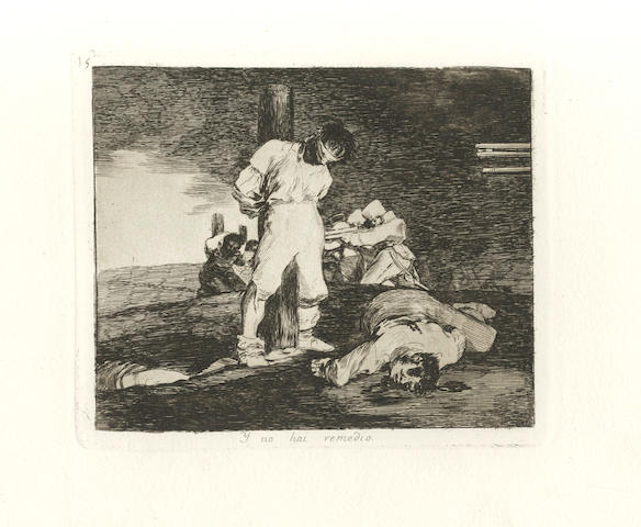 GOYA Y LUCIENTES (FRANCISCO JOSE DE) Los Desastres de la guerra, FIRST EDITION, later impression, 80 plates, [1863]
