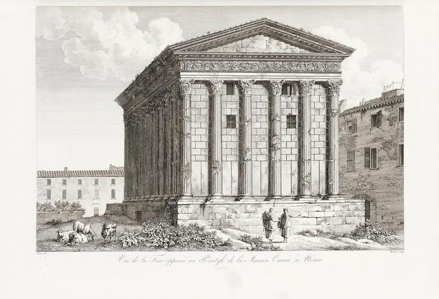 LABORDE (ALEXANDRE LOUIS JOSEPH, Comte de) Les monumens de la France classés chronologiquement et considérés sous le rapport des faits historiques, 2 vol., 1816-1836