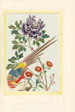 BUCHOZ (PIERRE JOSEPH) Collection précieuse et enluminée des fleurs les plus belles et les plus curieuses, qui se cultivent tant dans les jardins de la Chine, que dans ceux de l'Europe, 2 vol.