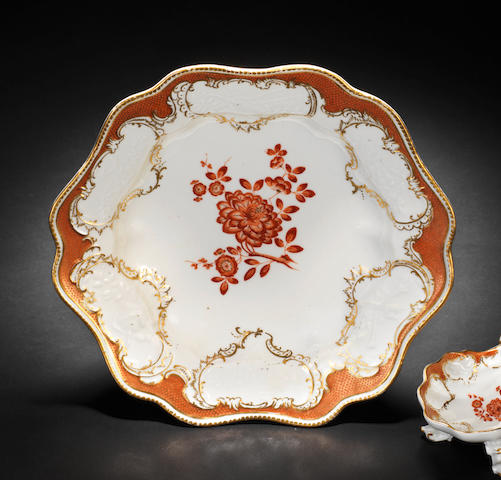 A Meissen soup plate from the 'Möllendorff' service, circa 1761